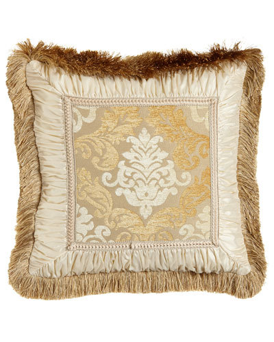 Belclaire European Sham with Fringe Border