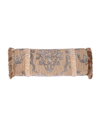 Grace Fringed Neckroll Pillow