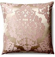 Juliette 18x18 Pillow, Gold/Pink