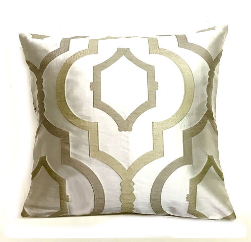 Steele Silver 18x18 Pillow