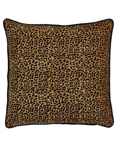 Kiera Leopard European Sham