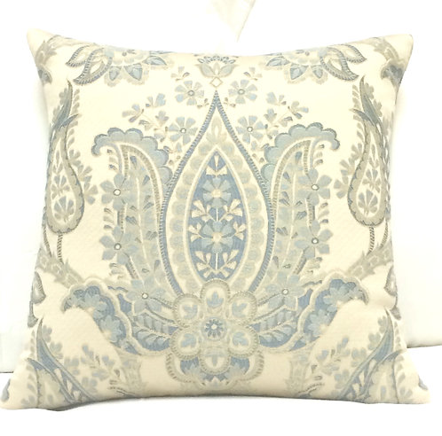 Tulip 18x18 Pillow, Blue