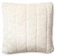 Arctic Fox 16x16 Pillow, White