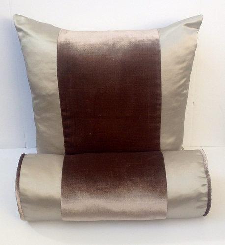 Silk / velvet Stripe Pillow