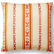 Braid 17x17 Pillow, Orange
