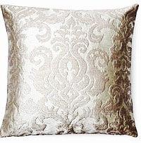 Melissa 16x16 Pillow, Silver
