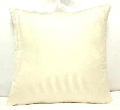 Ashley 18x18 Stripe Pillow, Cream