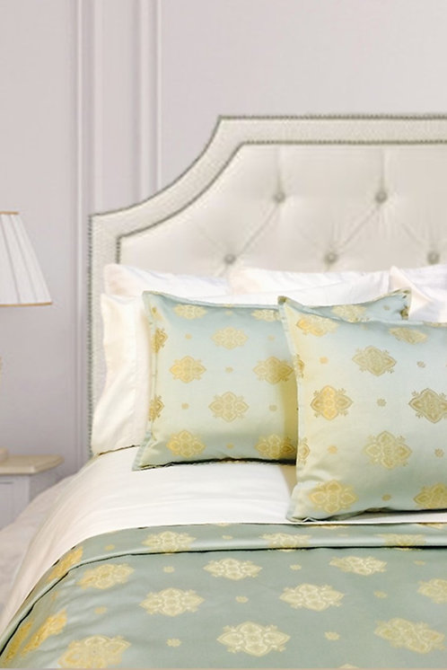 Claudia Duvet Set, blue/gold