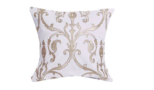 Royal White 18x18 Pillow