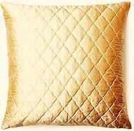Diana 18x18 Silk Pillow, Gold