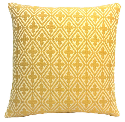 Holy Cross 17x17 Pillow, Yellow