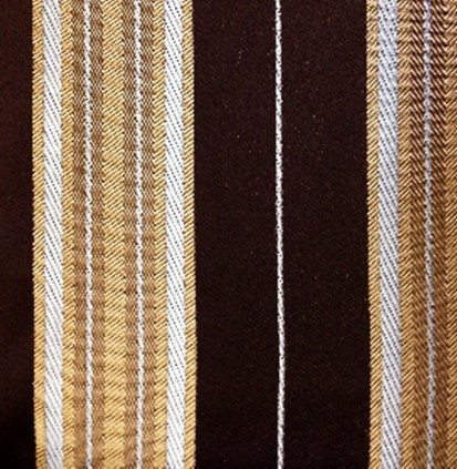 Stripe, Chocolate/Gold Panel