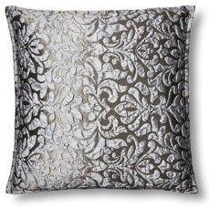 Hannah Grey 18x18 Pillow