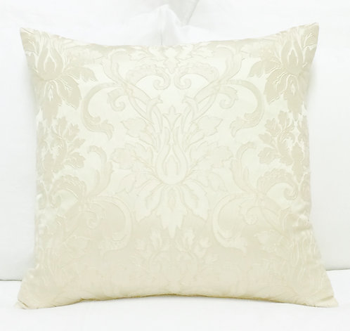 Calloway 17x17 Pillow, Ivory