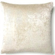 Shayla 16x16 Pillow, Silver