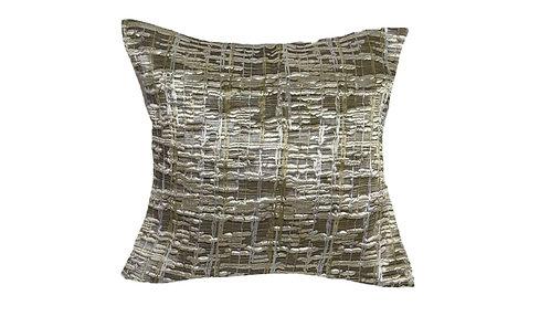 Gold Weave 18x18 Pillow