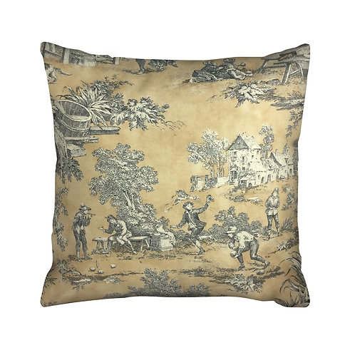 Golden Fiddler Pillow