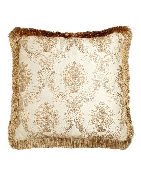 Catania European Sham with Embroidered Sheer