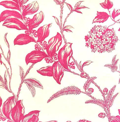 Floral, Fuchsia