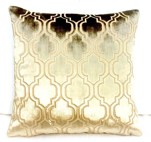 Glamour 16x16 Pillow, Gold