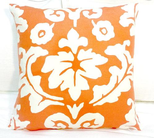 Persimmon 16x16 Pillow, Tangerine