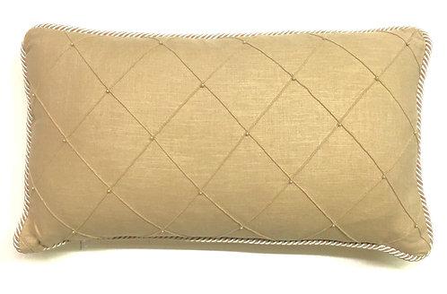 "Analiese Pearl  Diamond 14""x20"" Pillow"