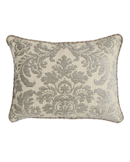 King Annabelle Damask Sham with Cording