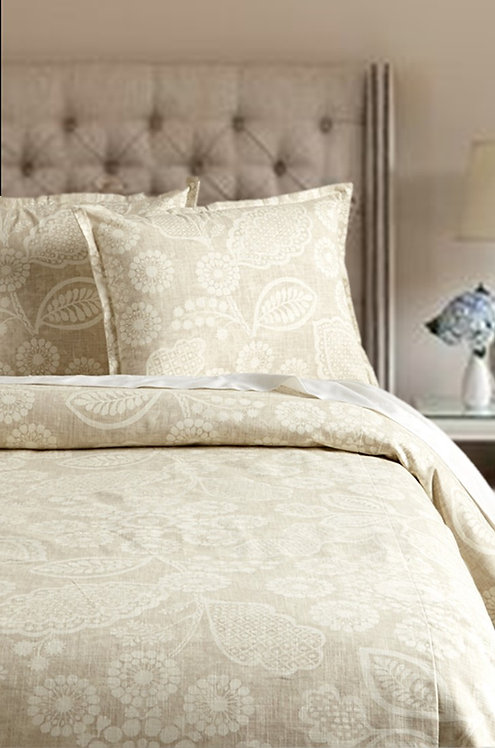 Lillia Duvet Set, Wheat