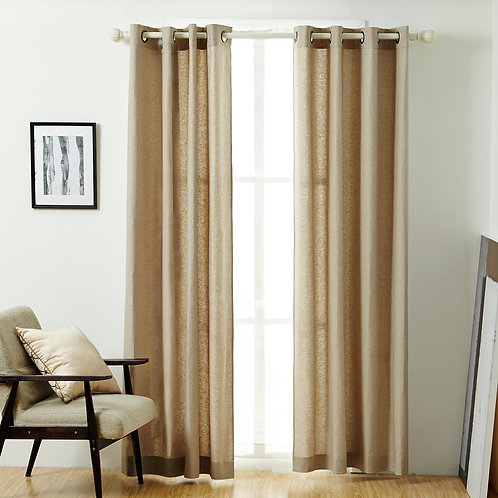 Solid Linen Panel, multiple colors available