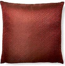 Aztec 16x16 Pillow, Red