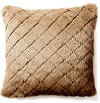Chelsea 18x18 Faux Fur Pillow