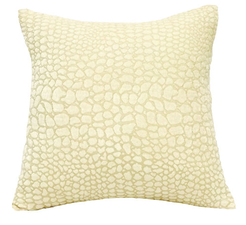 White Cayman 18x18 Pillow