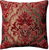 Maria 18x18 Pillow, Red