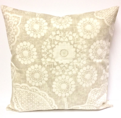 Lily 18x18 Pillow, Wheat