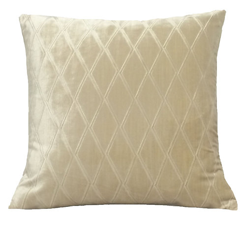 Brady 17x17 Pillow, Cream