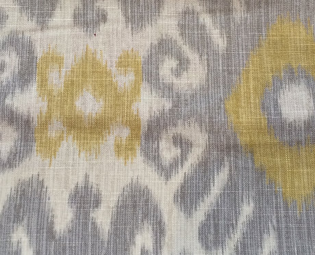 Ikat Panel, multiple colors available