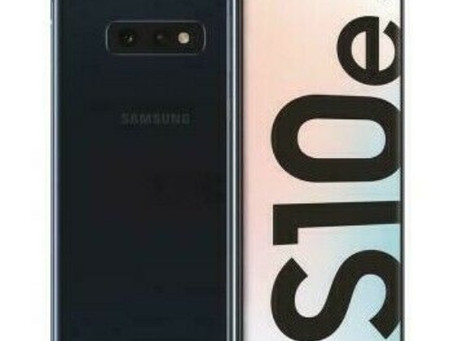 Samsung S10E 128GB now in Stock