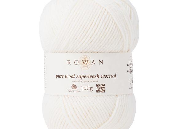 Pure Wool Superwash Worsted