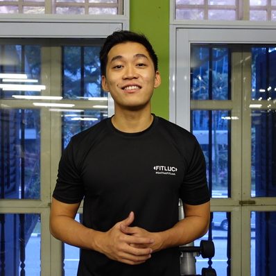 Personal Trainer - Lim Ming Tao Introduction