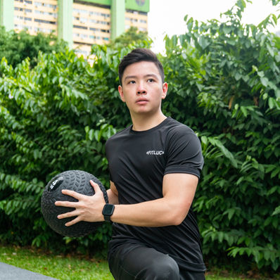 Personal Trainer - Marcus Chong pg