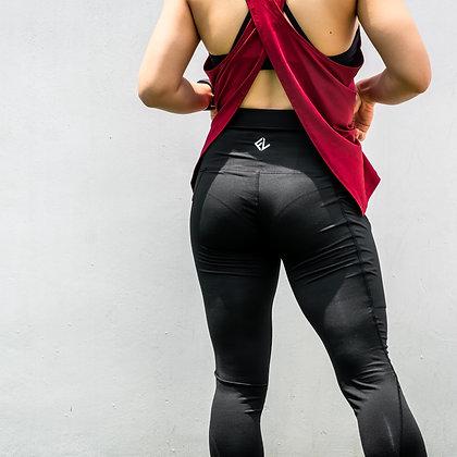 FITLUC Women's Leggings with Phone Pocket