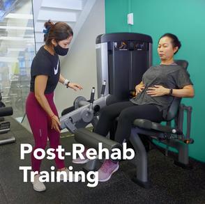 Post-Rehab Training