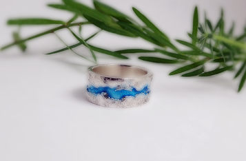 Mountain River Ring