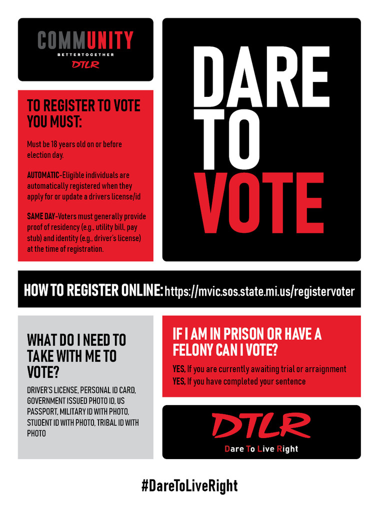 Dare To Vote Detroit