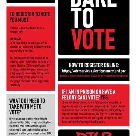 Dare To Vote DMV