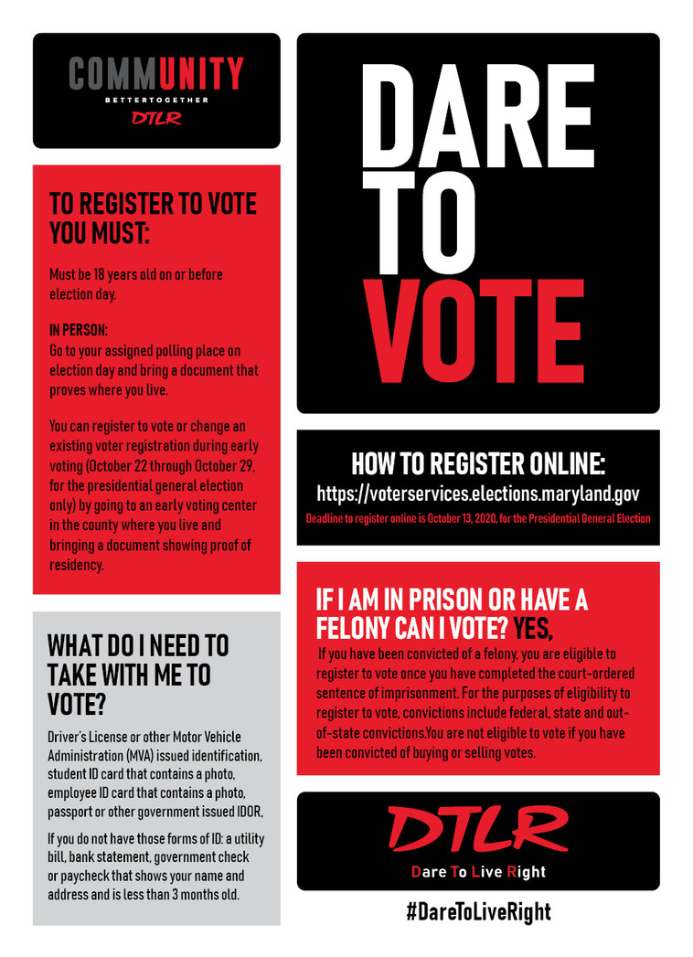 Dare To Vote DMV