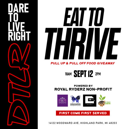 Eat To Thrive: Fresh Produce Giveaway Part II