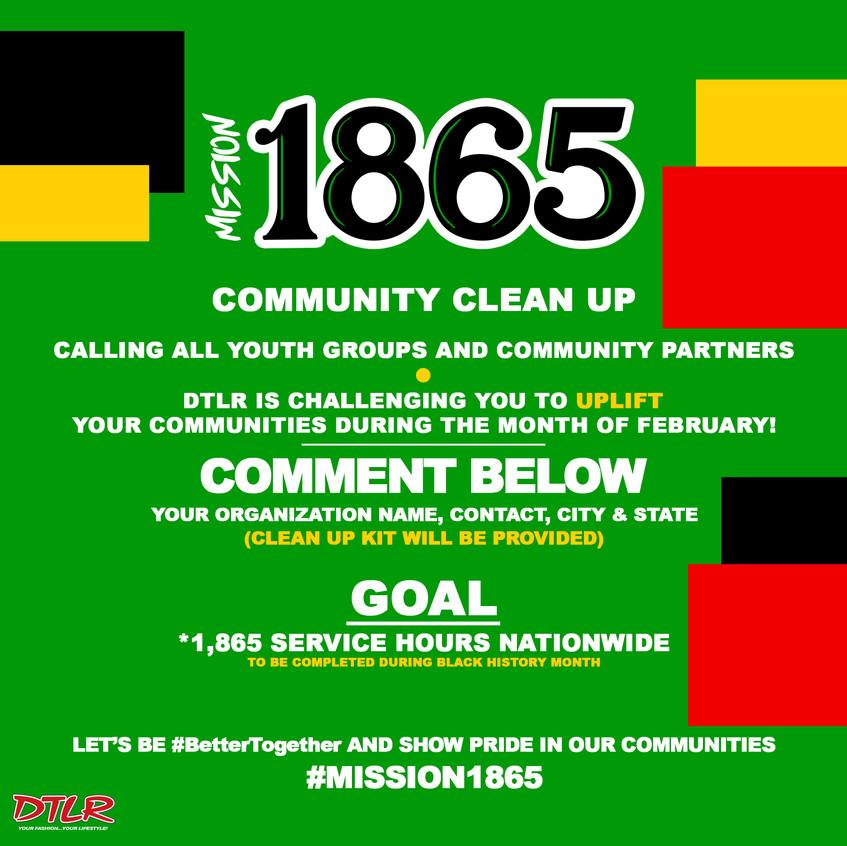 Community service flyer