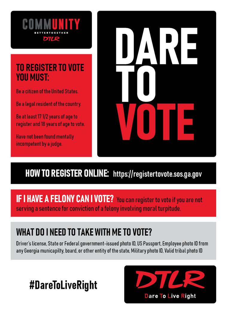 Dare To Vote Atlanta
