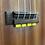 Thumbnail: Yellow Ukulele Strings Beads Guitar String Tie for Nylon Strings Ukuleles